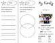 My Family Trifold - Journeys 2nd Grade Unit 1 Week 2 (2014, 2017 Common Core)