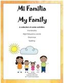 My Family Unit 2 Journeys 2nd Grade