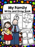 My Family Write and Draw Book