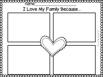 My Family and Me: A Kindergarten Unit Aligned to CCSS