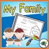 All About My Family Activity Booklet