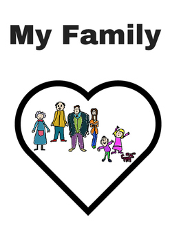 My Family emergent reader and learning pack