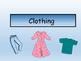 My Family's Clothing – Vocabulary Presentation and Reader – ESL Clothing Vocab