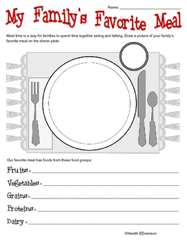 Healthy Eating: Family Meal Time