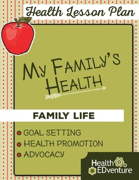 My Family's Health - Lesson Plan
