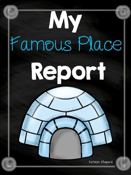 My Famous Place Report