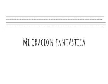 My Fantastic sentence! (Spanish)
