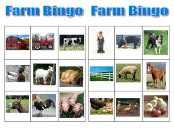 My Farm Bingo