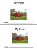My Farm Emergent Reader Kindergarten Preschool