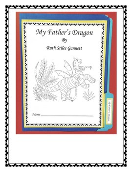 My Father's Dragon Book Report Lapbook