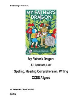 My Father's Dragon Literature Unit