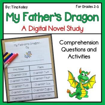 My Father's Dragon Novel Study Google Drive