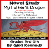 My Fathers Dragon Novel Study + Enrichment Project Menu