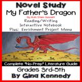 My Fathers Dragon Novel Study + Enrichment Project Menu