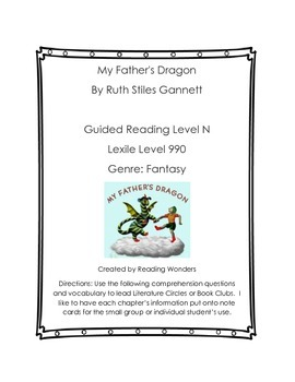 My Father's Dragon book club