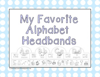 My Favorite Alphabet Headbands