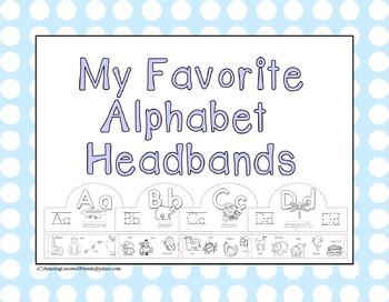 My Favorite Alphabet Headbands