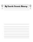 My Favorite Brownie Memory