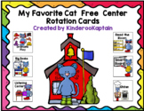 My Favorite Cat Free Center Rotation Cards