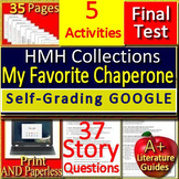 My Favorite Chaperone 8th Grade HMH Collections 1 - Activities and Test -  HRW