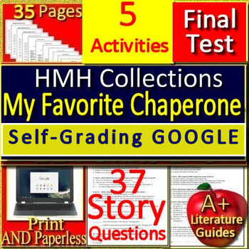 My Favorite Chaperone 8th Grade HMH: 5 Activities, Jeopardy