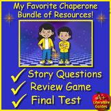 My Favorite Chaperone 8th Grade HMH: 5 Google Ready Activities + SELF-GRADING!