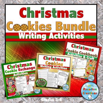 CCSS My Favorite Christmas Cookie Writing Assignment