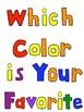 My Favorite Color -Class Book with bonus book