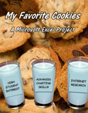 My Favorite Cookies  A Microsoft Excel Project