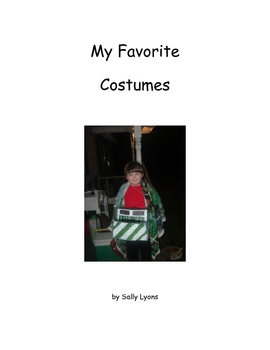 My Favorite Costumes - Grades 1 - 2 Social Story Picture Book