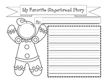 My Favorite Gingerbread Story