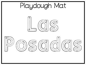 My Favorite Holiday-Las Posadas Trace and Color Worksheets. Preschool Handwritin