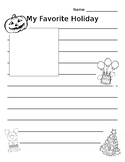 My Favorite Holiday Opinion Writing