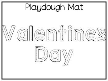 My Favorite Holiday-Valentine's Day Trace and Color Worksheets. Preschool Handwr