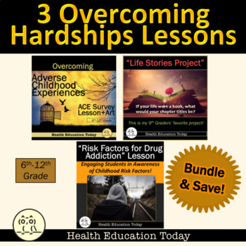Overcoming Hardships Lesson BUNDLE: My 3 Favorite Lessons on Adversity for Teens