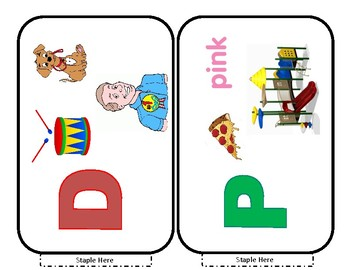 My Favorite Letter book/props and Guessing Game/props