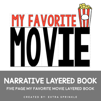 My Favorite Movie Expository Writing Layered Book