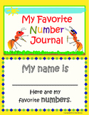 My Favorite Number Journal
