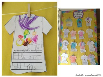 My Favorite Part of Kindergarten T Shirt
