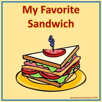 My Favorite Sandwich-FREEBIE
