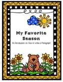My Favorite Season: How to Write a Paragraph