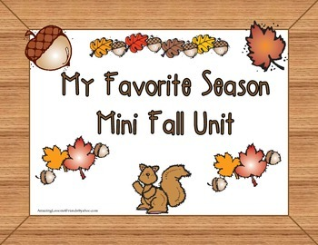 My Favorite Season Mini Fall Unit