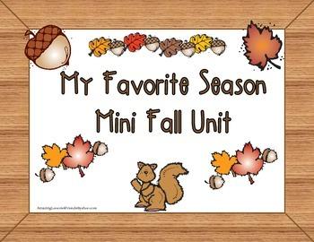 My Favorite Season Mini Fall Unit