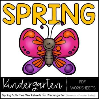 My Favorite Spring Activity Worksheet