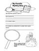 Book Report Printables