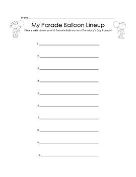 My Favorite Thanksgiving Day Parade Balloons!