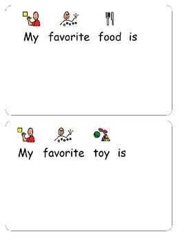 My Favorite Things- All About Me
