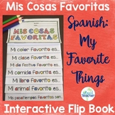 My Favorite Things Spanish Flip Book