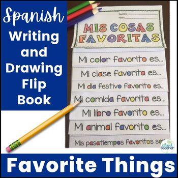 My Favorite Things Spanish Flip Book