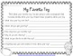 """My Favorite Toy"" Guided Explanatory Writing Paragraph"